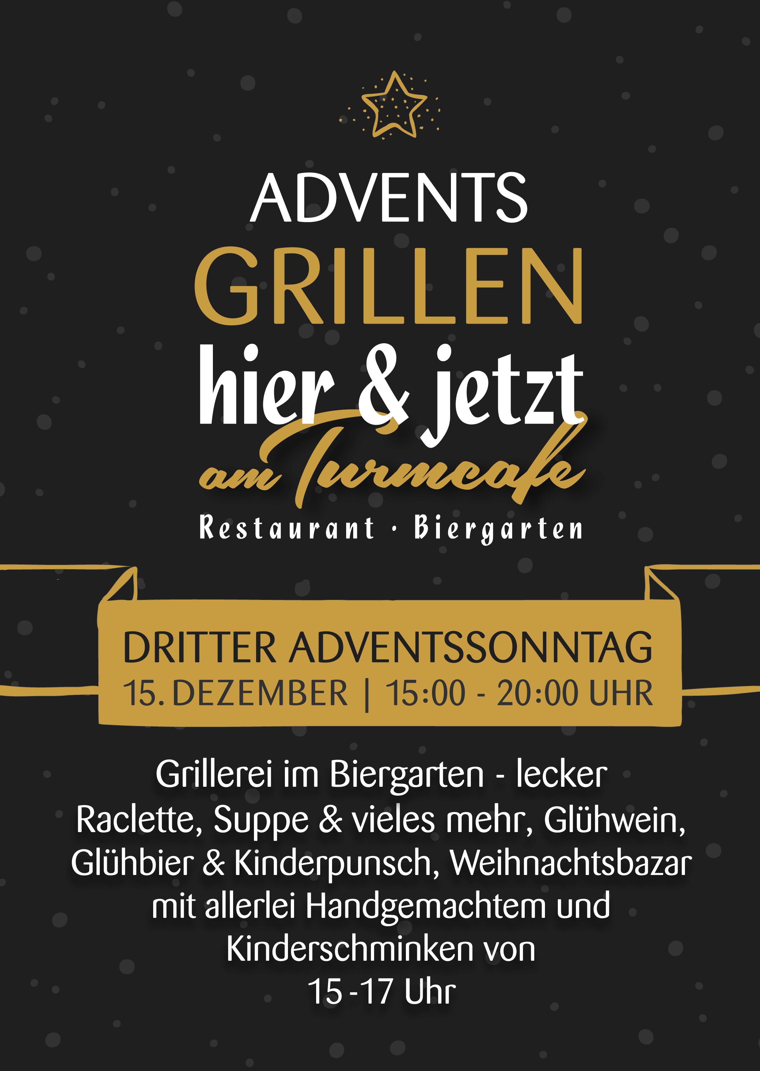 Adventsgrillen im Biergarten Freiburg
